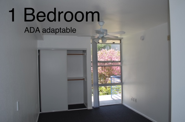 Image of the apartment bedroom